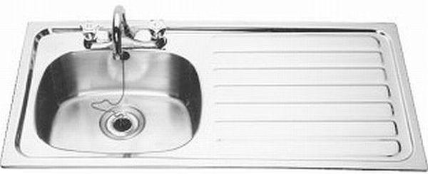 B20085 L Inset Sink - Left