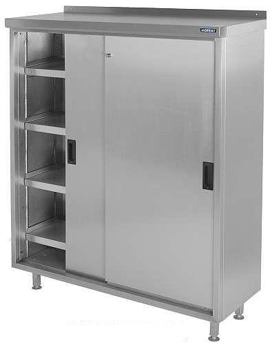 CH124FS4 Stainless Steel COSHH Cupboard