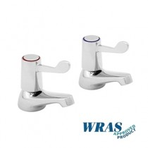 1100/D - Hot and Cold Basin Taps With Levers (Pair)