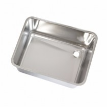 Polished Sink Bowl with Strainer 600x450x300