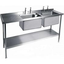 Catering Sink - SSU186DBB