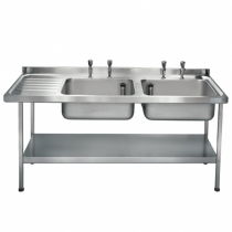 E20626L Catering Sink - Left Hand Drainer
