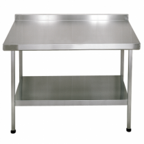 F20606Z Stainless Steel Midi Wall Table