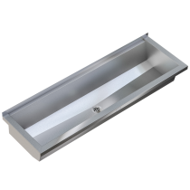 Planox PL24-UK Wall Mounted Wash Trough