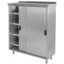 CH124FS3 Stainless Steel COSHH Cupboard