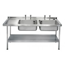 E20616L Catering Sink - Left Hand Drainer