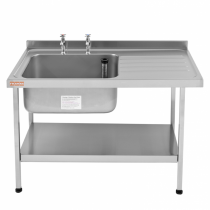 E20612L Catering Sink - Left Hand Drainer